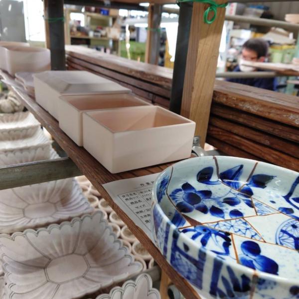 陶片紋の器