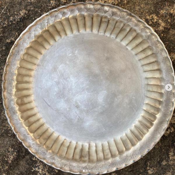 銀彩、福泉窯の高台